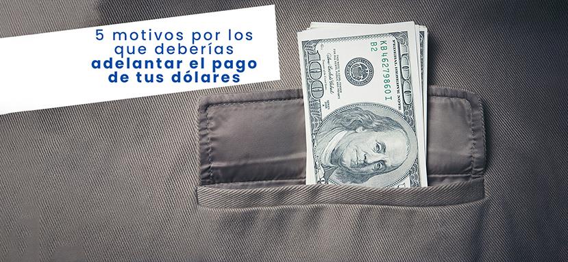 Adelanta tus facturas